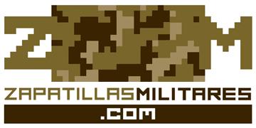 Zapatillas militares y artículos de camuflaje Logo