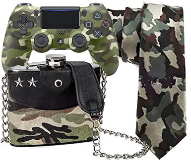 regalos estampados militares