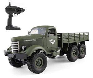 camion militar RadioControl tracción 4 ruedas