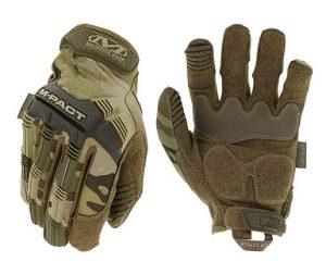guantes moto o bici estampado militar canuflaje