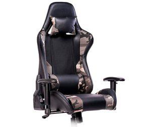 silla gaming estampado camuflaje